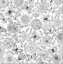 coloring book flower. Fine Coloring Amazoncom Floral Designs Adult Coloring Book 31 Stressrelieving  Designs Studio 9781441317452 Peter Pauper Press Books Intended Flower F