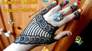 Mehndi Easy Design 2017 How To Apply Easy Simple Jewellery Ornamental Henna Mehndi Designs For Hands Tutorial For Eid 2017