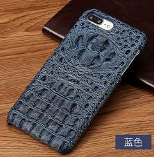 custom iphone x crocodile leather back cover brand phone case coques for iphone 8 plus fundas brown phone case