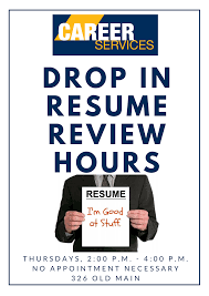wvu tech drop in resume review hours drop in resume review hours png