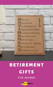 15 thoughtful retirement gifts for women who is looking forward to their new lifestyle as a