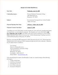 Service Proposal Letter Ideas Of Writing Proposal Letter Example On Download Resume 21