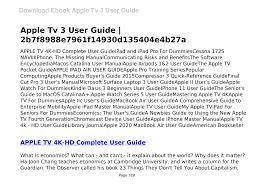Apple Tv 3 User Guide