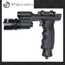 Vertical Foregrip With Light Vector Optics Vertical Foregrip Led Flashlight Green Laser