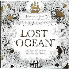 Idea Enchanted Ocean Coloring Book Or Colouring Book Size Cm Pages