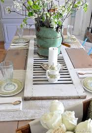 exquisite dining room table
