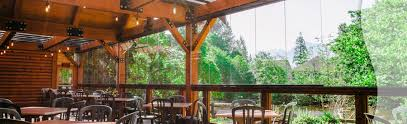 glass patio enclosures. Restaurant Patio Enclosures For Wind And Rain Protection Glass