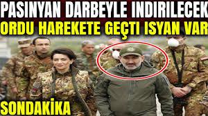 Paşinyan gitmezse darbeyle indirilecek..! Ordu kararını verdi.. (  Azerbaycan Ermenistan Son Dakika ) - YouTube