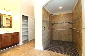 exellent plan handicapped accessible intended roll in shower floor plan m