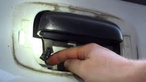 Chevrolet Silverado Tailgate Latch Repair - YouTube