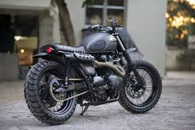 scramblers are the cur craze in the custom bike scene and now manfacturers are catching on too with several releasing great looking all new scrambler