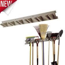 wall mount tool hanger garden organizer yard rack garage storage outdoor lawn
