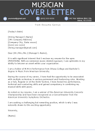 024 Formal Email Template Uk Musician Cover Letter Example