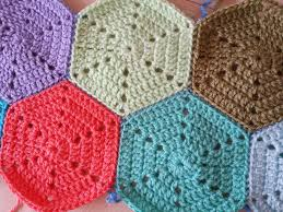 Hexagon Crochet Pattern Magnificent Solid Hexagon Crochet Pattern Claire Jackson Crochet