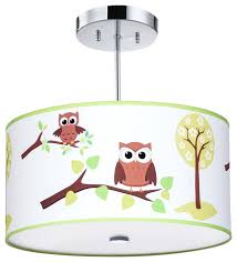 kids ceiling lighting. Owl Light Fixture Kids Ceiling Lighting