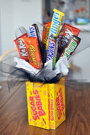 fun candy bar bouquet