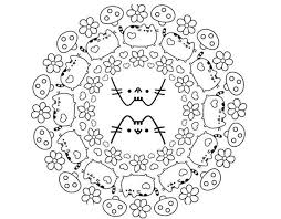 Printable Pusheen Coloring Pages Printable Get Coloring Page