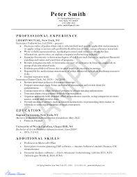 Sap Hcm Fresher Resume Sample College Admissions Representative