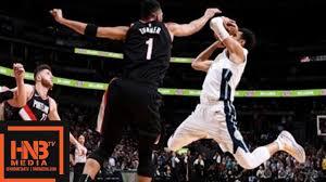Denver Nuggets vs Portland Trail Blazers Full Game Highlights / Jan 22 /  2017-18 NBA Season - YouTube