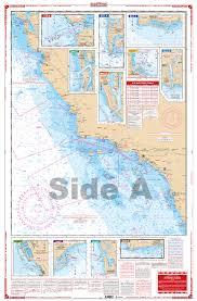 San Francisco To Mexico Navigation Chart 54