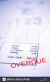 Overdue Account Overdue Account Stock Photo 149202 Alamy