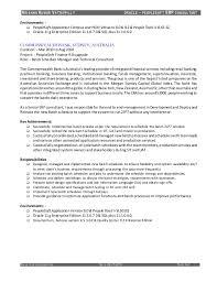 Glamorous Peoplesoft Finance Functional Resume 90 On Good Resume Objectives  With Peoplesoft Finance Functional Resume