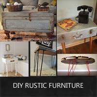 diy rustic furniture from salvaged finds rustic crafts chic decor build your own rustic furniture