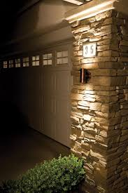Garage Outdoor Wall Lights Outdoor Led Lighting Create Signature Design From Your