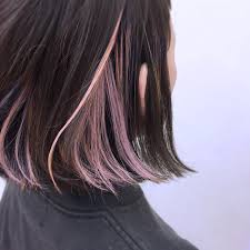 雰囲気変えてみたい毛先だけのヘアカラーでお手軽イメチェン Arine