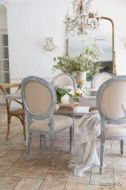 giving furniture a chalk finish