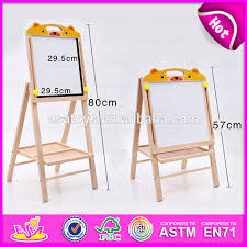 Good Chart For Kids Good Quality Wooden Painting Board Stand For Kids Double Sided Adjustable Flip Chart Painting Board Stand W12b086 Buy Painting Board Painting