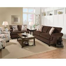 Living Room Loveseats Metro Living Room Sofa Loveseat Chocolate 47a Living