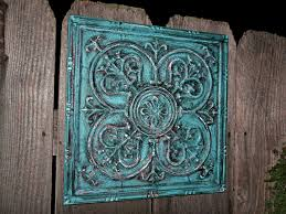 Square Metal Wall Decor Turquoise Wall Decor Wall Decals 2017