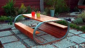 diy garden furniture ideas. modern wood outdoor dining tables ideas | diy table top garden furniture