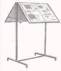 Steel Stands For Display BHAGWAT BROTHERS Steel furniture Kitchen Trolleys Book Stands 96