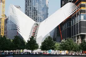 10 most famous architecture buildings. Plain Buildings Santiago Calatrava The WTC Transit Hub 2016 On 10 Most Famous Architecture Buildings