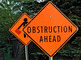 Image result for obstruction pictures