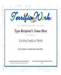 Employee Appreciation Certificate Template Free Copy Elegant