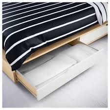 ikea storage bed frame. IKEA MANDAL Bed Frame With Storage May Be Completed Headboard. Ikea
