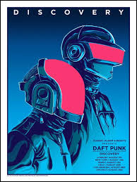 <b>DAFT PUNK</b> (Discovery), Tim Doyle - French Paper Art <b>Club</b> ...
