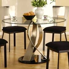 glass table round dining chic glass top round dining table glass dining table and 6 chairs