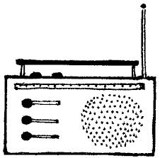 radio clipart black and white. radio clip art black and white clipart