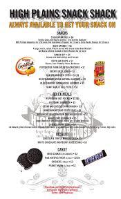 High Plains Tap House Food Menu Littleton Colorado