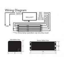 three lead ballast wiring diagram three diy wiring diagrams 4 lamp electronic ballast wiring diagram nilza net
