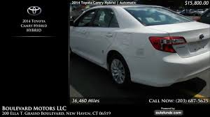 Used 2014 Toyota Camry Hybrid | Boulevard Motors LLC, New Haven ...