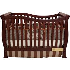 AFG Baby Furniture Nadia 3 in 1 Convertible Crib Cherry Walmart