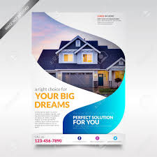 Real Estate Brochure Template Free Real Estate Flyer Template Brochure With Shape