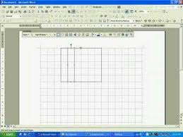 How To Make Graphing Paper In Word Drawing A Gridline In Microsoft Word 203 Youtube