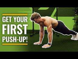 a one month push up training program