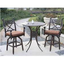 counter height patio furniture small. Bar Height Patio Furniture Outdoor Casual Garden Comfortable Chairs Small Round Table Metal Weather Counter U